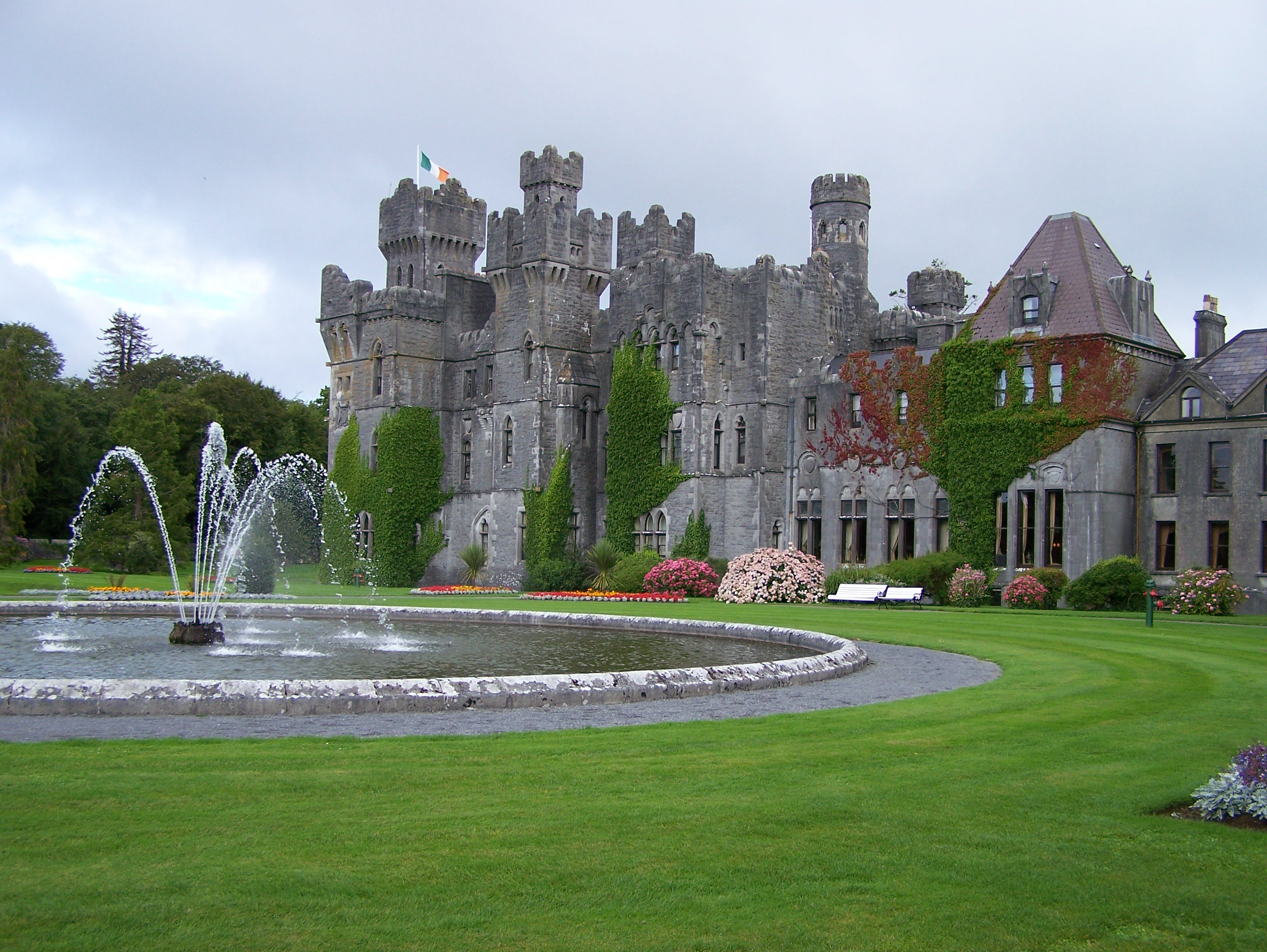Great Ashford Castle, Cong, Co. Galway, Now A Hotel.